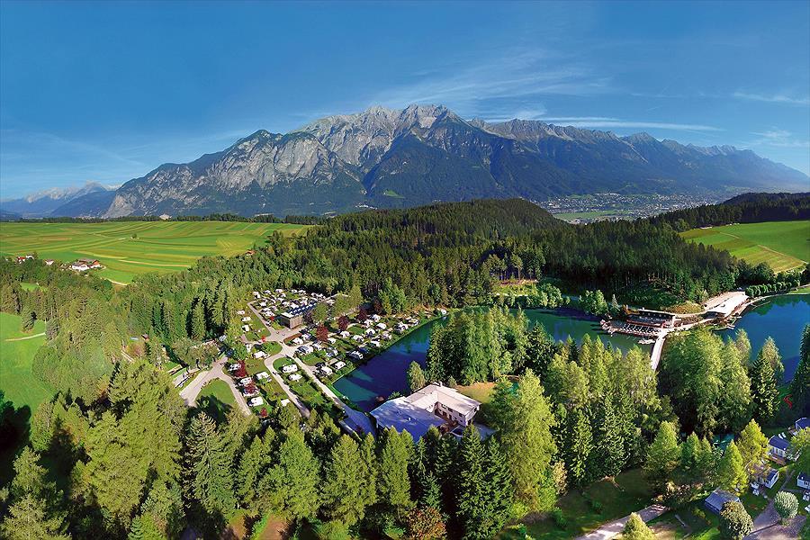 Camping Ferienparadies Natterer See bij Natters (Tirol)