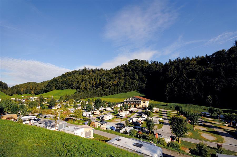 Camping Seeblick Toni bij Kramsach (Tirol)
