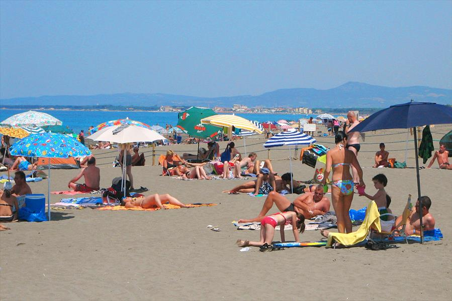 Camping Free Time bij Marina di Bibbona (Livorno)