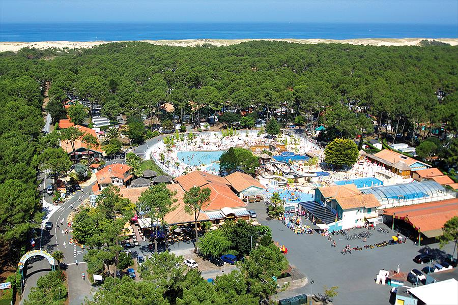 Camp. Village Resort & Spa Le Vieux Port in Messanges is een kindvriendelijke camping in Frankrijk
