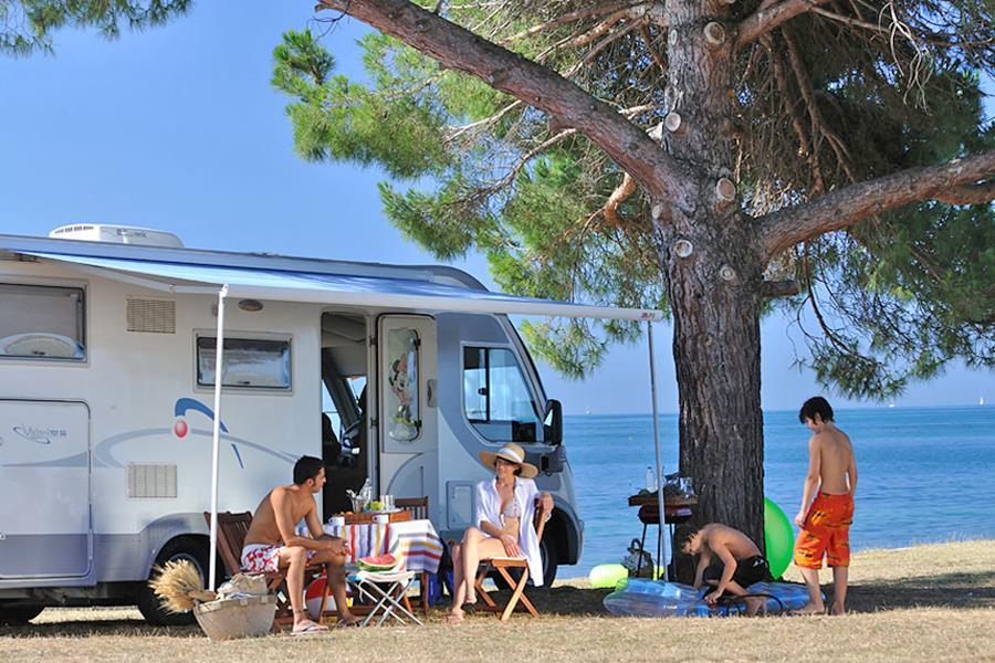 Camping Polari bij Rovinj (Istrië)