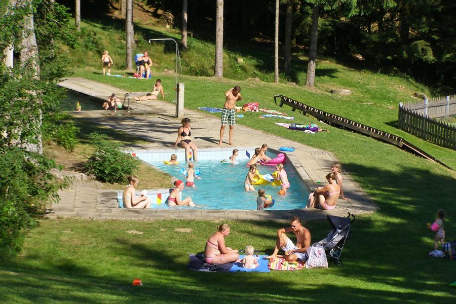 Knaus Campingpark Lackenhäuser bij Lackenhäuser (Beieren)