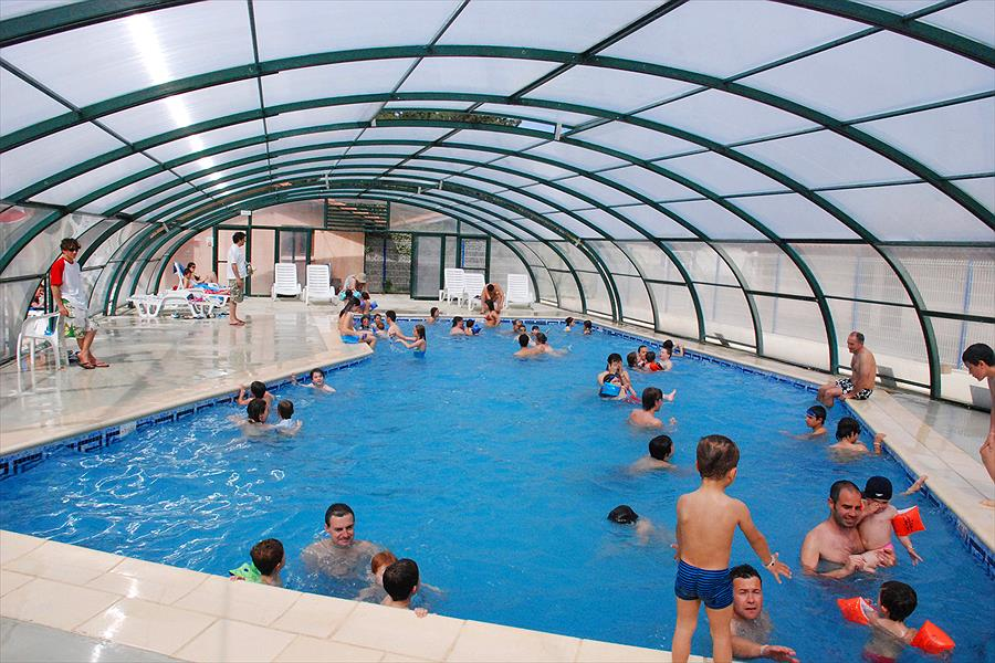 Camp. Village Resort & Spa Le Vieux Port bij Messanges (Landes)