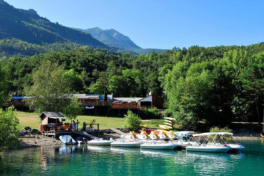 Campéole Le Lac bij Saint-Vincent-les-Forts (Alpes-de-Haute-Provence)