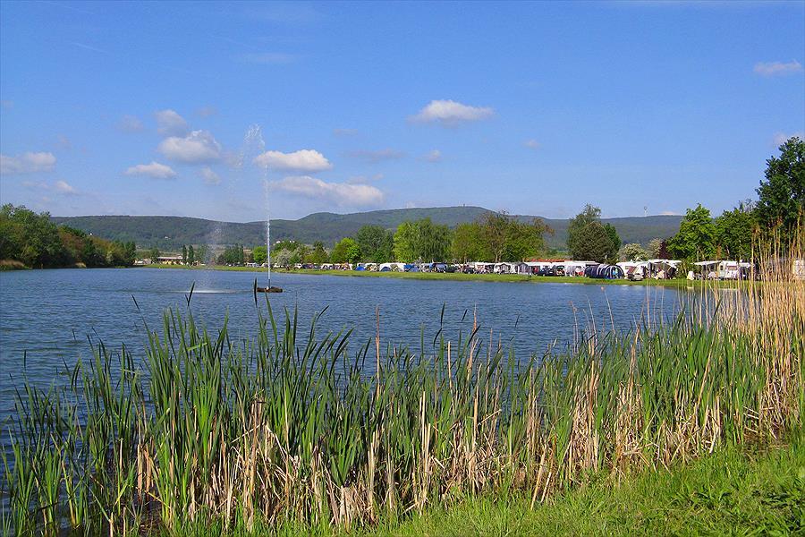 Knaus Campingpark Bad Dürkheim bij Bad Dürkheim (Rijnland-Palts)