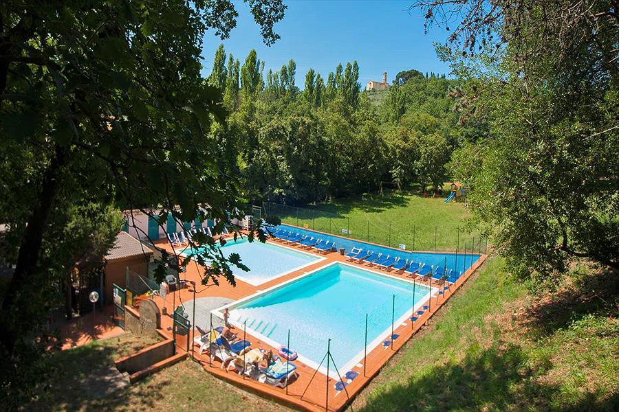 Camping Village Internazionale Firenze in Impruneta is een kindvriendelijke camping in Italië