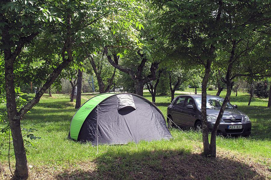 Camping Village Internazionale Firenze bij Impruneta (Florence)