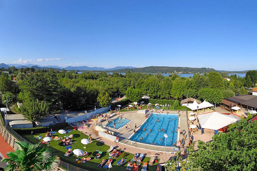 Camping Village Lago Maggiore bij Dormelletto (Novara)