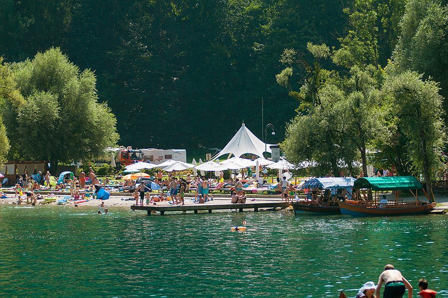 Camping Bled in Bled is een kindvriendelijke camping in Slovenië