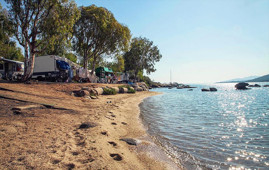 Camping Capo d'Orso in Palau is een kindvriendelijke camping in Italië