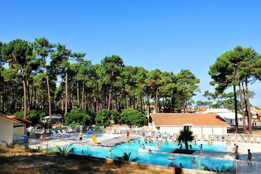 Camping Campéole Plage Sud in Biscarrosse-Plage is een kindvriendelijke camping in Frankrijk