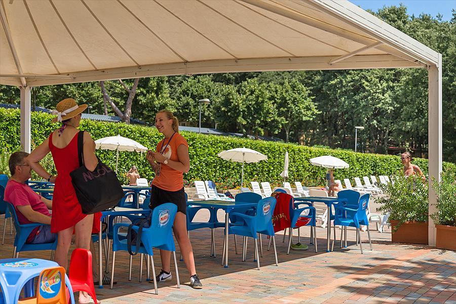 Camping I Pini Family Park bij Fiano Romano (Rome)