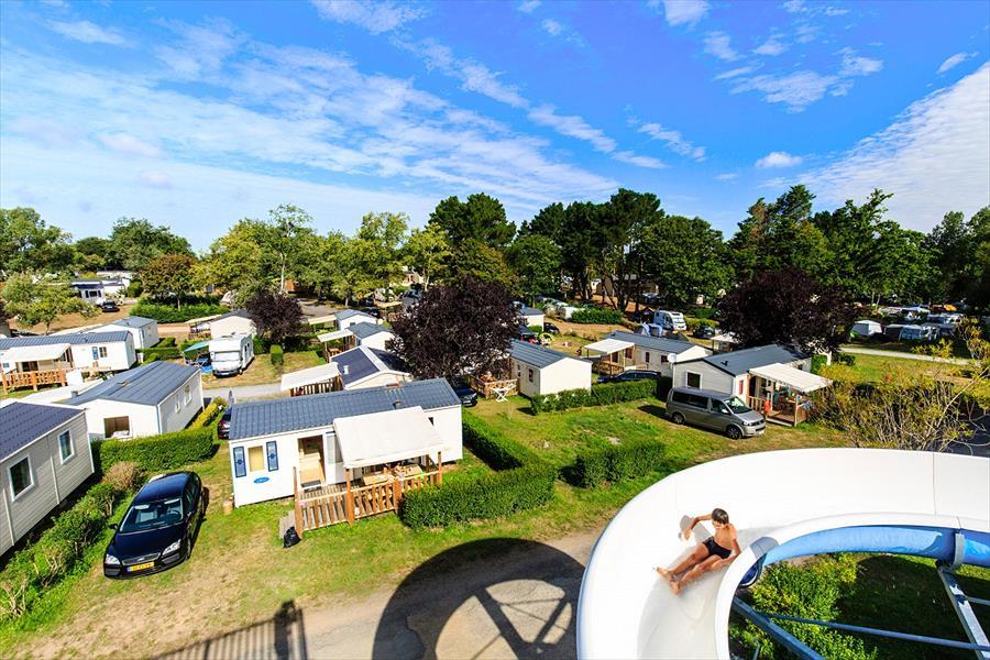 Camping Le Domaine de Bréhadour bij Guérande (Loire-Atlantique)