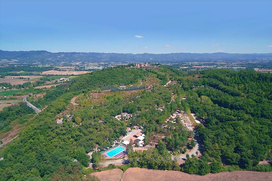 Camping Village Mugello Verde bij Scarperia e San Piero (Florence)