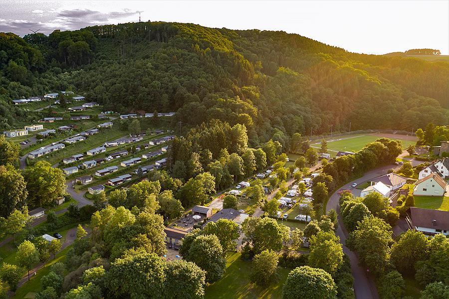 Campingpark Eifel in Waxweiler is een kindvriendelijke camping in Duitsland