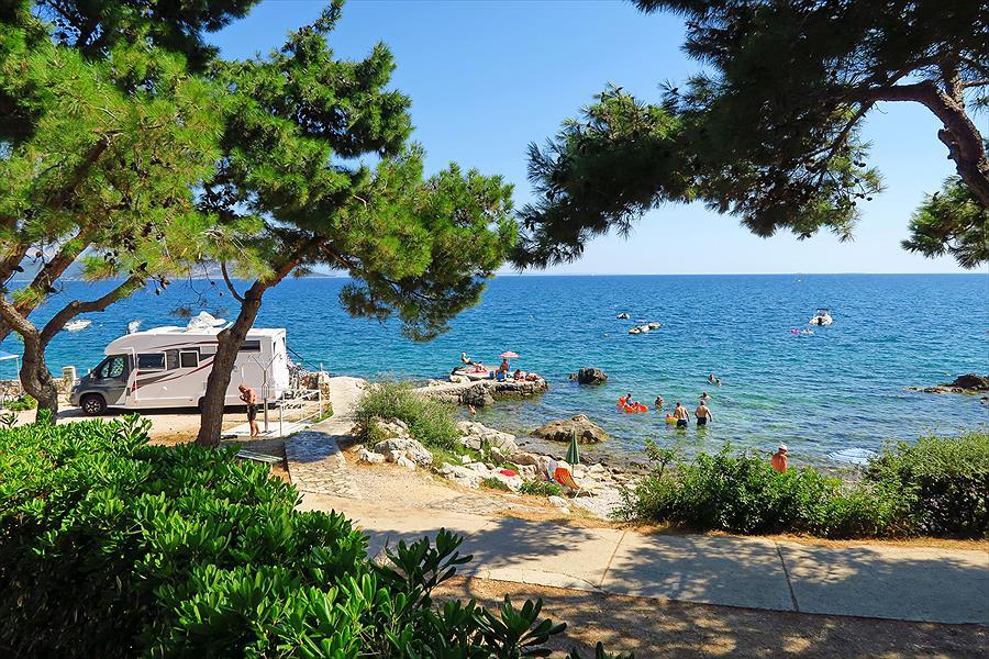 Jezevac Premium Camping Resort in Krk is een kindvriendelijke camping in Kroatië
