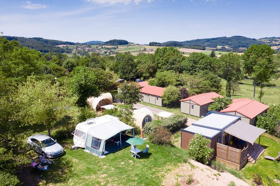 Camping Le Village des Meuniers in Dompierre-les-Ormes is een kindvriendelijke camping in Frankrijk