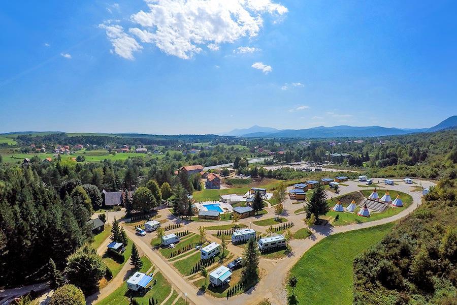 Plitvice Holiday Resort in Grabovac is een kindvriendelijke camping in Kroatië