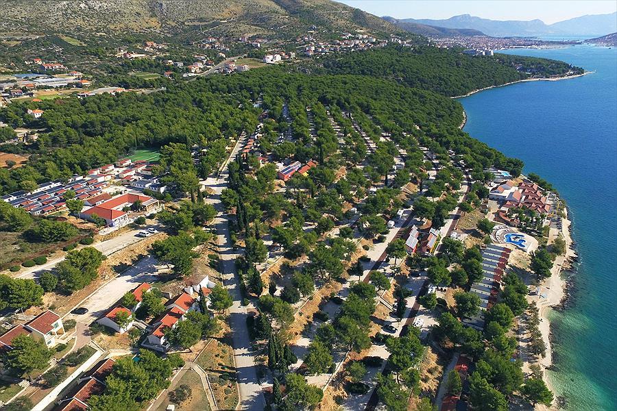 Camping Belvedere in Vranjča is een kindvriendelijke camping in Kroatië