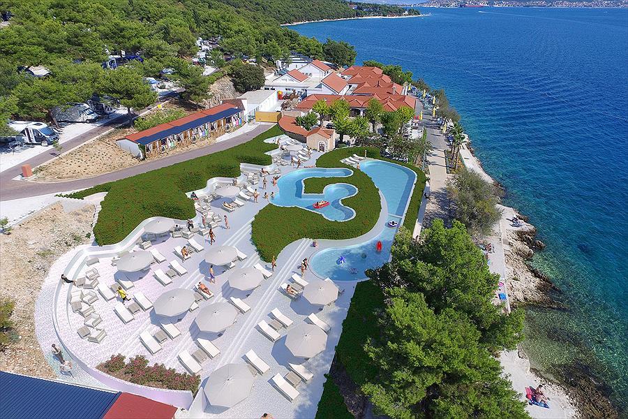 Camping Belvedere bij Vranjča (Split-Dalmatië)