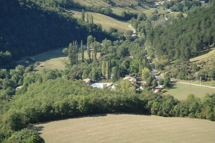Camping Le Gallo Romain bij Barbières (Drôme)