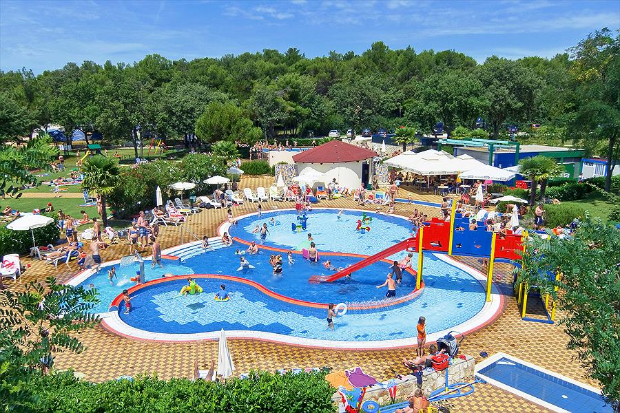 Lanterna Premium Camping Resort in Poreč is een kindvriendelijke camping in Kroatië
