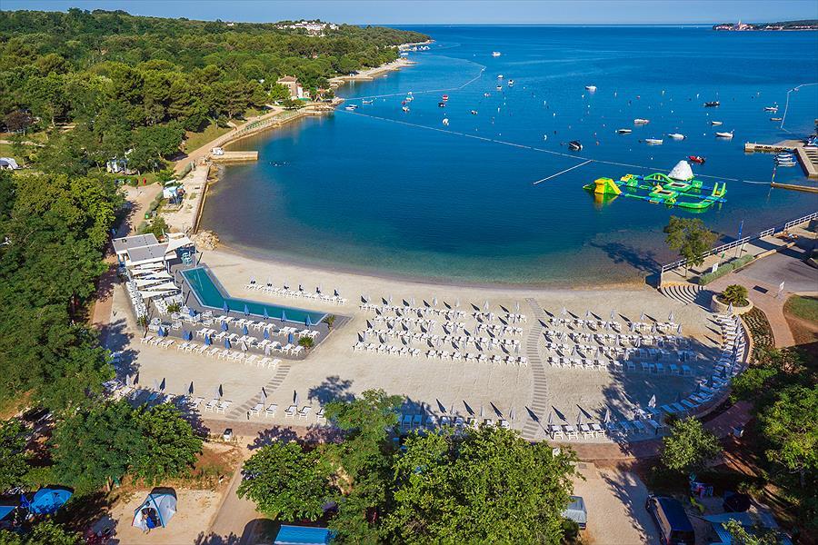 Lanterna Premium Camping Resort bij Poreč (Istrië)