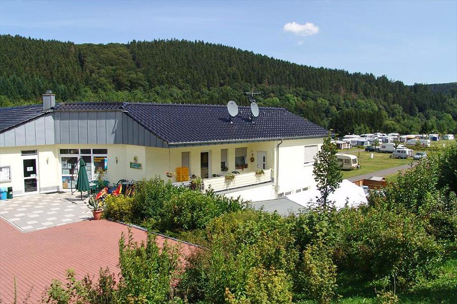 Kronenburger See in Hallschlag is een kindvriendelijke camping in Duitsland