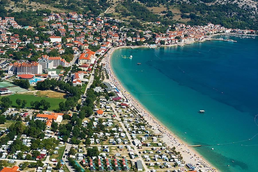 Baška Beach Camping Resort in Baška is een kindvriendelijke camping in Kroatië