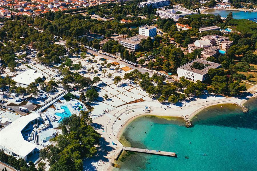 Falkensteiner Premium Camping Zadar in Zadar is een kindvriendelijke camping in Kroatië