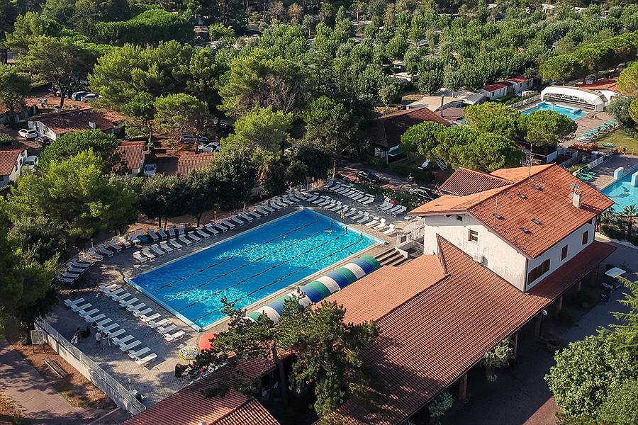 Camping Residence Punta Spin bij Grado (Gorizia)