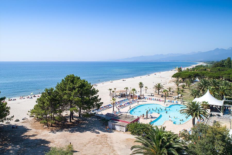Camping Marina d'Erba Rossa in Ghisonaccia is een kindvriendelijke camping in Frankrijk