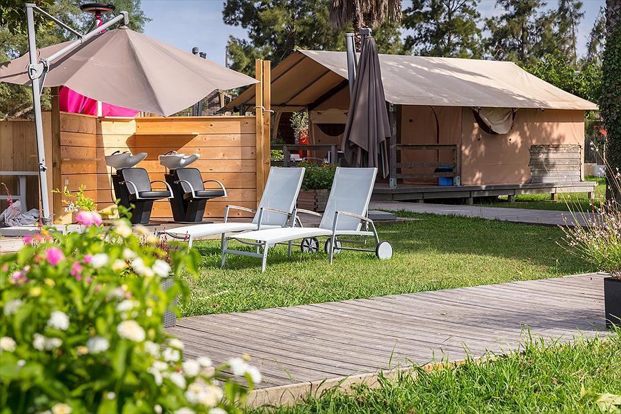 Camping Marina d'Erba Rossa bij Ghisonaccia (Haute-Corse)