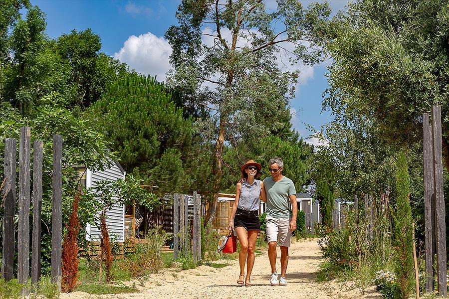 Camping Sandaya Les Deux Fontaines bij Névez (Finistère)
