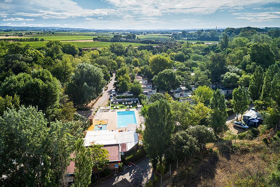 Camping Val de Cesse in Mirepeisset is een kindvriendelijke camping in Frankrijk