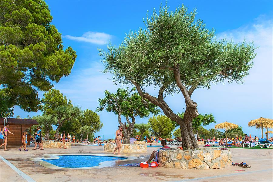 Camping Ametlla in l'Ametlla de Mar is een kindvriendelijke camping in Spanje