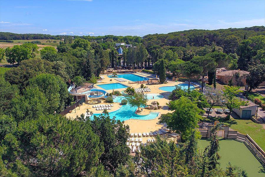Aanbiedingen en korting Camping Sandaya Le Plein Air des Chênes Clapiers