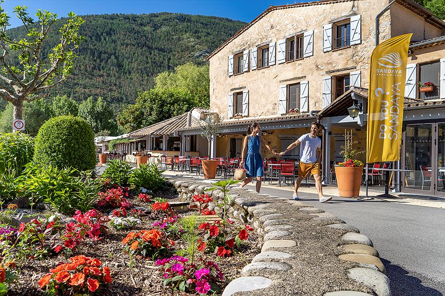 Camping Sandaya Domaine du Verdon bij Castellane (Alpes-de-Haute-Provence)