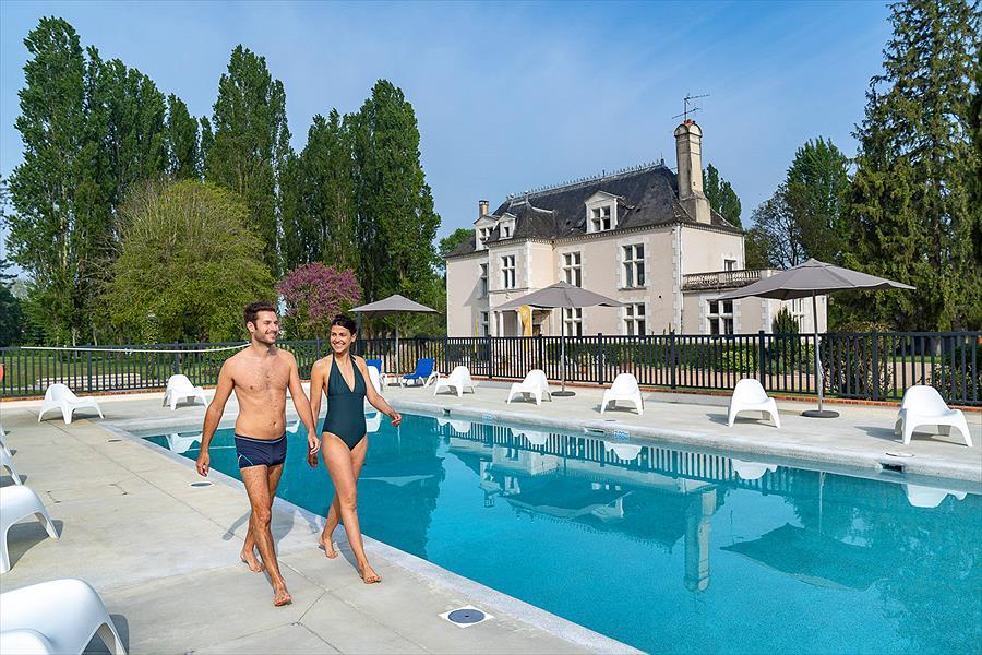 Camping Sandaya Château des Marais in Muides-sur-Loire is een kindvriendelijke camping in Frankrijk