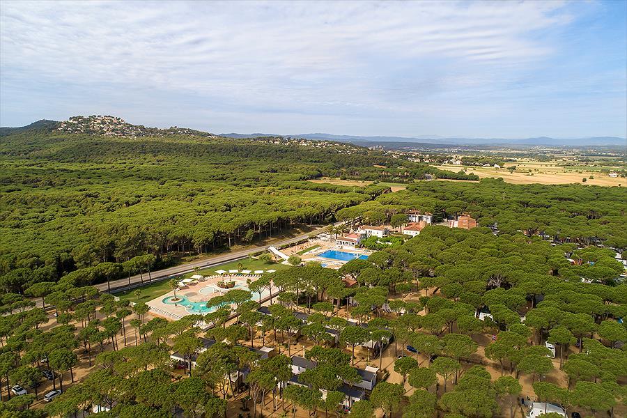 Camping Sandaya Cypsela Resort bij Pals (Gerona)