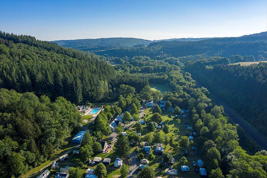 Camping Sandaya Parc la Clusure bij Bure (Luxembourg)