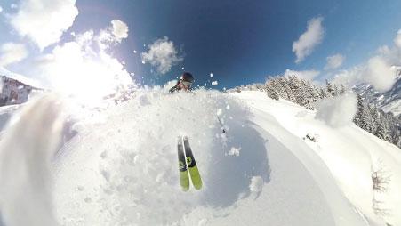 Wintersport in de zomer