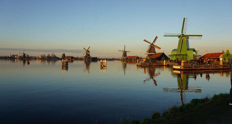 Zaanse Schans Noord-Holland