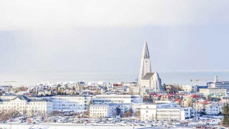centrum van IJsland