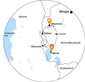 Fietsvakantie Noord-Macedonië